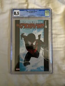 Ultimate Comics All-New Spider-Man #1 2nd Miles Morales 1st Solo CGC 8.5