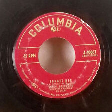 "Tony Bennett Forget Her / Can you find it in your Heart 7"" 45 Columbia VG+"