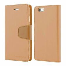 iPhone 5 5s SE Genuine MERCURY Goospery Brown Flip Case Wallet Cover Post