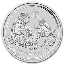 2016 Australia 1 kilo Silver Lunar Monkey BU - 92719