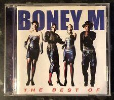 BONEY M THE BEST OF MUSIC CD 1997 NEAR MINT CONDITION