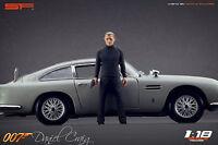 1:18 007 James Bond Daniel Craig figurine VERY RARE !!! painted, NO CAR! by SF
