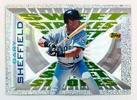 Gary Sheffield #SS13 (1996 Topps) Sweet Strokes, Florida Marlins