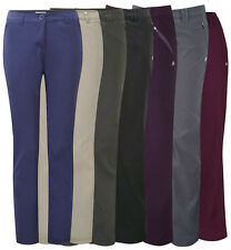 CRAGHOPPERS WOMENS/LADIES KIWI PRO STRETCH TROUSERS WORK WALKING TRAVEL CASUAL
