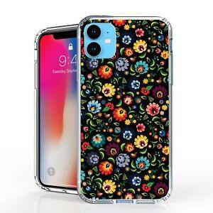 """For iPhone 11 6.1"""" Hybrid  Bumper Shockproof Case Floral"""