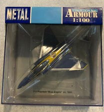 F-4 Phantom Blue Angels 1:100  Armour Collection Model Art 5041 NRFB