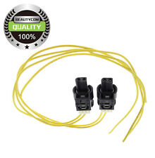 2 x LED Connector Pigtail Plug Cable Wire for 11.8 inches Mercedes Benz 2-wire