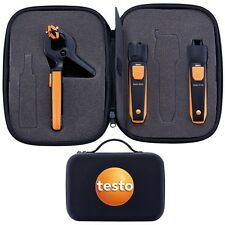 TESTO SMART TOOLS PROBE KIT - HEATING SET WITH CLAMP & INFRARED THERMOMETER +