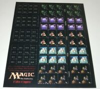 Magic the Gathering Fallen Empires Token Sheet Counter Goblin Citizen Spore MTG