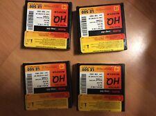 4 X Kodak 16 mm estar base microfilm imagylink le 500 40 M Cartucho de la película
