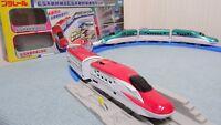 TAKARA TOMY Plarail E5 & E6 Shinkansen Consolidated Set New from Japan F/S