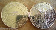 Medal Basilica Sacre Coeur Montmartre Christ Mosaic Unc France 2010 Gold Color