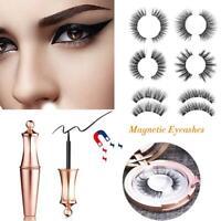 Eyeliner Liquide Magnétique avec Cils Magnétiques Imperméable