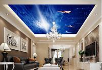 3D Sterne Der Mond Engel 5 Fototapeten Wandbild Fototapete BildTapete DE Lemon