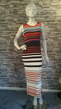 M&S LIMITED EDITION BODYCON LONG SLEEVELESS DRESS/SIZE :12