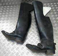 Originale British Army Problema Household Cavalry Troopers Ginocchio Lungo Boots