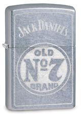 ZIPPO LIGHTER JACK DANIEL'S STREET CHROME OLD NO.7 (99391) GIFT BOXED AU STOCK !