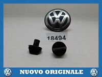 2 Pieces Button Automatic Press Stud Original AUDI A4 From 1995 A 2001