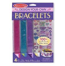 MELISSA & Doug Design Your Own braccialetti Ragazze CREATIVE PLAY NUOVO