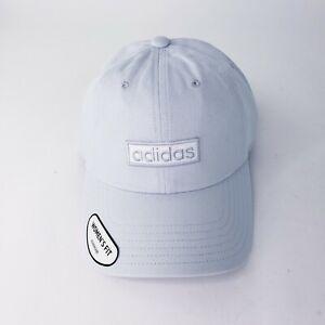NWT! Adidas Women's Aeroready Contender II Adjustable Cap/hat Light Blue Logo