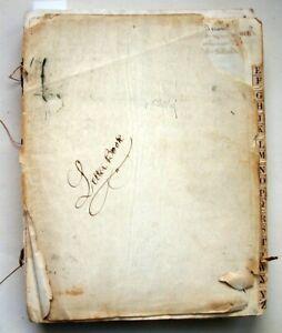 Bound lot of 400+ letters, 1857-58, from Thomas Stewardson, Esq., Philadelphia