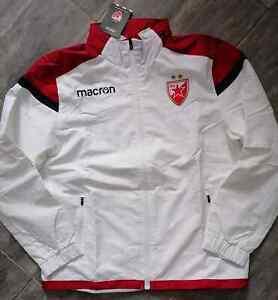 FC Red Star CRVENA ZVEZDA L SIZE Macron-rain jacket FC Red Star STAFF  official