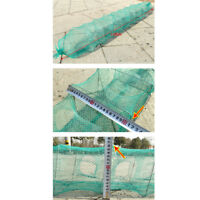 1.8m Fishing Foldable Portable Crayfish Catcher Live Fish Shrimp Lure Nylon Nets