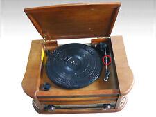 Dual NR 4 Nostalgie Musikanlage mit Plattenspieler (W17-FA1665)