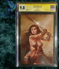 Red Sonja #20 CGC 9.8 SS Parillo (limited run 500 copies) Variant Cover I.