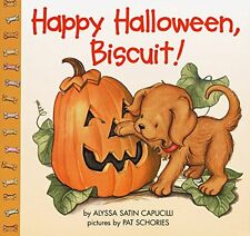 Happy Halloween, Biscuit! Capucilli, Alyssa Satin Illustrated Free Shipping