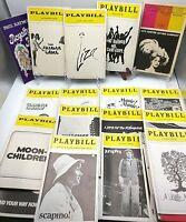 1974 LOT OF 20 PLAYBILLS - Liza, Pajama, Fonda, Thieves, Jumpers and more