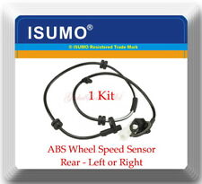 1 Kit ABS Wheel Speed Sensor Rear Left or Right Fits MAZDA 2 2011-2014 L4 1.5L