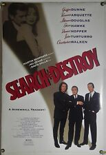 SEARCH & AND DESTROY DS ROLLED ORIG 1SH MOVIE POSTER DENNIS HOPPER COMEDY (1995)