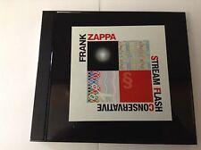 Frank Zappa – Stream Flash Conservative Clinton Records – CL 7918 V RARE CD