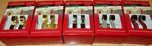 The Original Christmas stocking holders hangers USA mantle clips all colours