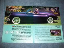 """1939 Ford Sports Custom Vintage History Info Article """"The Fadeaway Ford"""""""