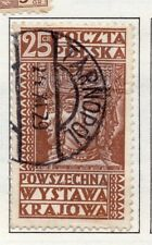 Poland 1929-38 Early Issue Fine Used 25g. 190919