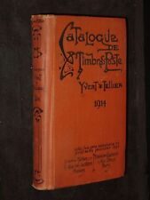 Catalogue Prix-Courant de Timbres-Poste 1914