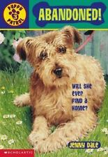 Kids fun paperback:Abandoned-Puppy Patrol books-left dog+jewelry mystery-advent