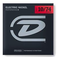 Dunlop DEN1074 Nickel Wound Electric Guitar Strings, Medium, .010–.074, 8 String