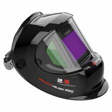 True Color Weld Hood Auto Darkening Welding Helmet Side View Tig Mig Arc