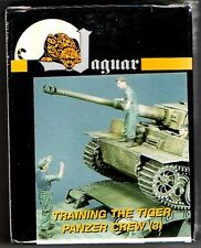 JAGUAR MODELS 63022 - TRAINING THE TIGER PANZER CREW (3) -1/35 RESIN KIT