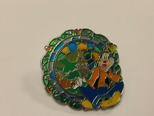 Disney HKDL Goofy Near The Robinson Tree Pin - Stained Glass / Mosaic