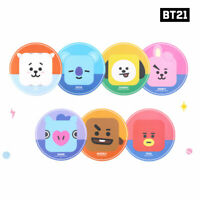 BTS BT21 Official Authentic Goods PVC Mouse Pad 210 x 210 x 2 mm By Royche
