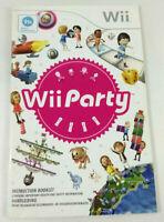 Notice Wii Anglais Hollandais  Wii Party  Envoi rapide et suivi