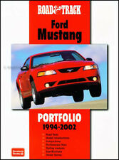 Book of 41 Magazine Articles on Ford Mustang 2002 2001 2000 1999 1998 1994-1997