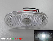 "1 x White Side LED Marker Lights for VW CRAFTER, MERCEDES SPRINTER ""4 LEDs"""