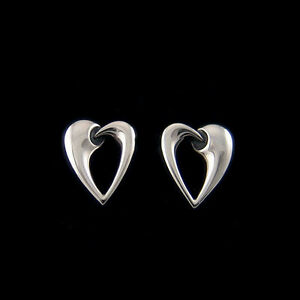 Georg Jensen Artist Heart Earrings Of The Year 2006
