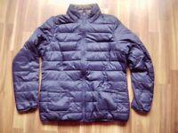 @ TCM @ Jacke Wendejacke gesteppt blau/grau Size XL Gr. 42 UK 16 US 12 leicht