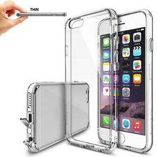 New Funda Claro Premium Crystal Bumper Caso with Back Case Para IPhone 6s / Plus